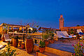 Riad Cinnamon roof terrace at night.jpg