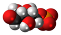 Ribose 5-phosphate anion spacefill.png