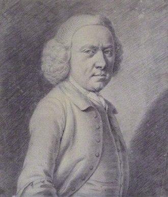 Richard Phelps (artist) - Richard Phelps, Self-portrait, 1771, charcoal, National Portrait Gallery, London