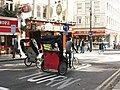 Rickshaws in St Martin's Lane - geograph.org.uk - 1528665.jpg