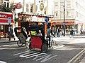 Rickshaws in St Martin's Lane - geograph.org.uk - 1528665.jpg