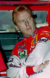 Ricky Craven American stock car racing driver and commentator