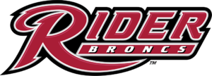Rider Broncs men's basketball - Image: Rider Broncs wordmark