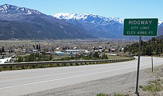 Ridgway, Colorado Town in Colorado, United States