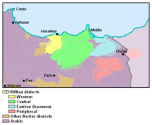Riffian Dialects in Morocco.PNG