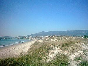 Playa de El Rinconcillo - Image: Rinconcillo norte 2
