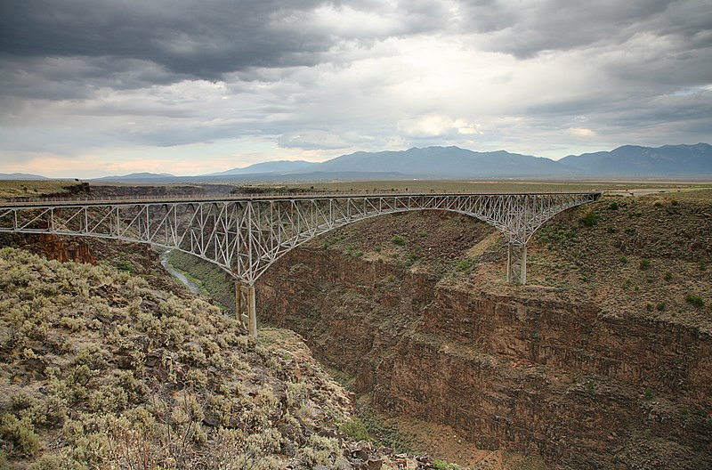 File:Rio Grande Gorge Bridge.jpg