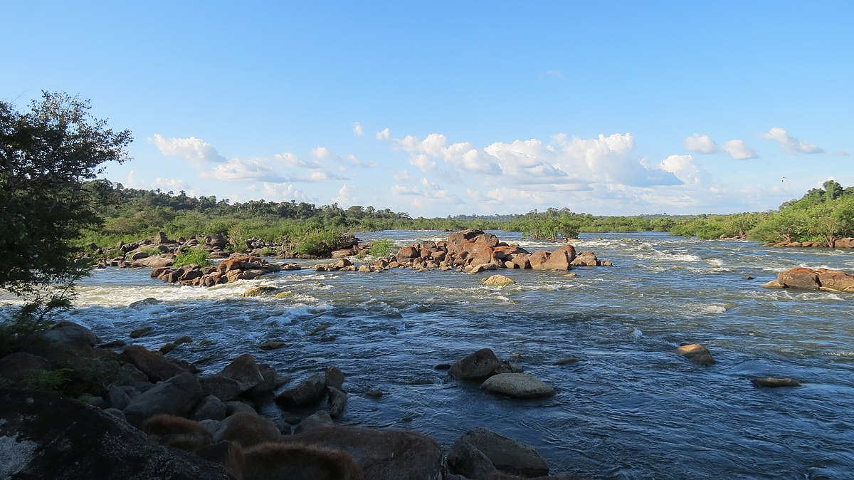 Xingu River Clearwater rive...