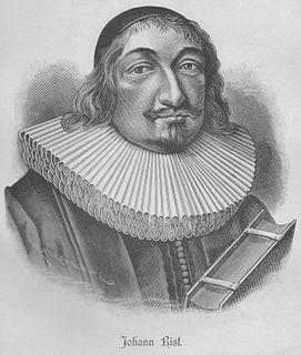 Johann von Rist German poet and dramatist