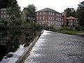 River Nidd, Weir and Castle Mill, Knaresborough - geograph.org.uk - 1404253.jpg