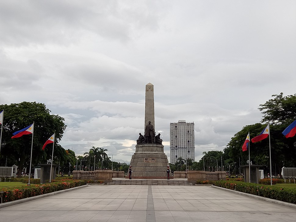 Rizal Park Front View