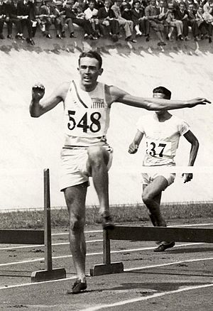 Robert Maxwell (hurdler) - Robert Maxwell at the 1928 Olympics