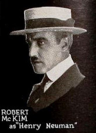 Robert McKim (actor) - McKim from ad for Riders of the Dawn (1920)