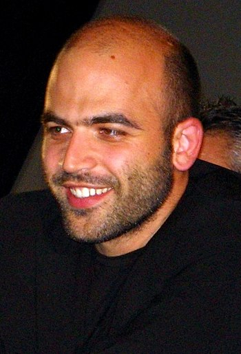 Roberto Saviano, an Italian writer and journalist;