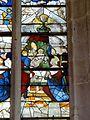 Roberval (60), église Saint-Remy, croisillon sud, verrière n° 6, 1er régistre, droite - Présentation au Temple.JPG