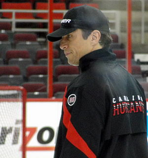 Rod BrindAmour Canadian ice hockey player and coach