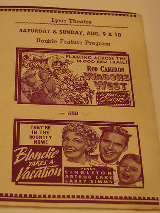 McNulty - Poster for Blondie Takes a Vacation (1939), starring Penny Singleton (1908–2003), the stage name of motion picture actress and radio personality Marianna Dorothy Agnes Letitia McNulty
