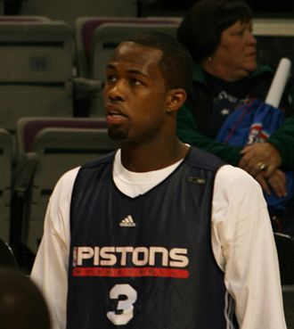 Rodney Stuckey - Stuckey with the Detroit Pistons