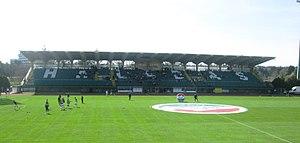 Rohonci út - Image: Rohonci úti stadion 2010 (főtribün)