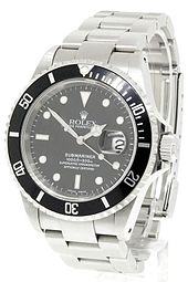 The Rolex Submariner, an officially certified chronometer