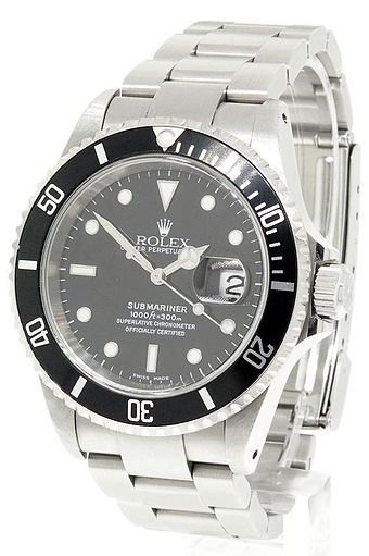 The Rolex Submariner, an officially certified chronometer Rolex-Submariner.jpg