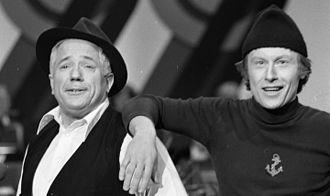 Rolf Just Nilsen - Rolf Just Nilsen (left) in 1980