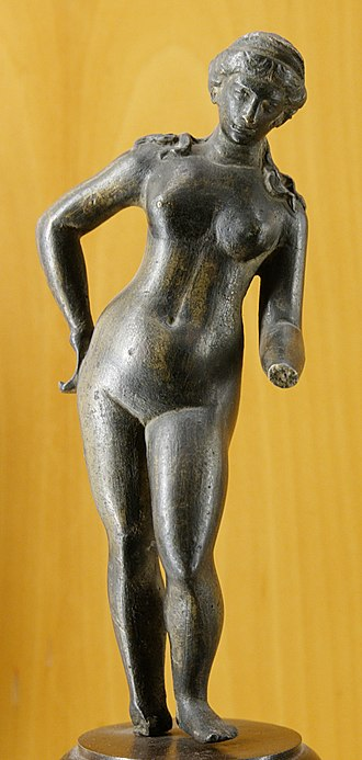 Venus (mythology) - Bronze figurine of Venus, Lyon (Roman Lugdunum)