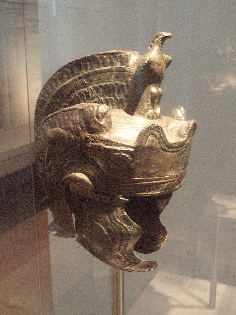 File Roman Parade Helmet  2nd Century Jpg