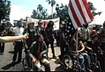 Ron Kovic and Vietnam Veteran protestors at the 1972 Republican National Convention - Miami, Florida 2.jpg