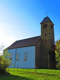 Rorbach-lès-Dieuze l'église Saint-Jean-Baptiste.JPG