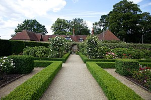 Loseley Park - Rose garden