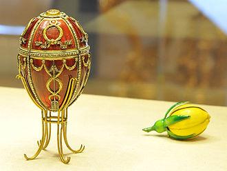 Rosebud (Fabergé egg) - Image: Rosebud egg