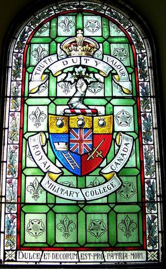 St. Andrew's Presbyterian Church (Kingston, Ontario) - Royal Military College of Canada stained glass window at St. Andrew's Presbyterian Church (Kingston, Ontario)