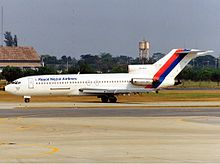 Royal Nepal Airlines Boeing 727-100 JetPix.jpg