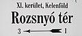 Rozsnyó tér, névtábla, 2018 Kelenföld.jpg