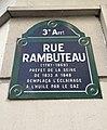 Rue Rambuteau - plaque.jpg