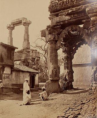 Jayasimha Siddharaja - Image: Ruins of Rudra Mahalaya at Siddhapur Gujarat India