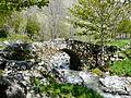 Ruisseau de l'Aguila Gèdre vieux pont.JPG