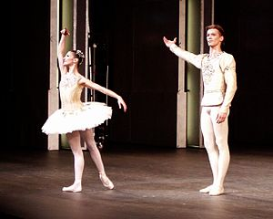 Jewels (ballet) - Rupert Pennefather and Alina Cojocaru in the Diamonds suite from the opening night of the revival of George Balanchine's Jewels performed by The Royal Ballet, Friday, November 23, 2007
