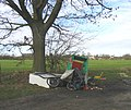 Rural Flytipping near Roxwell - geograph.org.uk - 119255.jpg