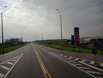 Route 2 (Uruguay) - Image: Ruta 2 en el Departamento de Río Negro