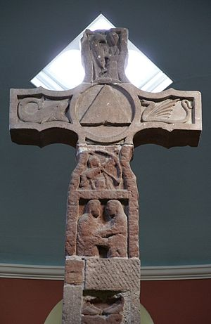 Ruthwell Cross - Top of the south face