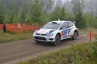 Julien Ingrassia - Julien Ingrassia at the 2013 Rally Finland