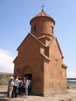 Saint Sarkis Church of Ashtarak - Saint Sarkis Church, August 2009