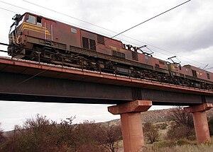 South African Class 9E, Series 1 - Image: SAR Class 9E Series 1 E9006 SAR