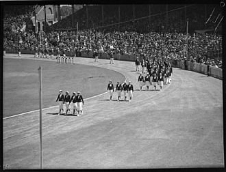 Commonwealth Games - Opening ceremony of the 1938 British Empire Games at the Sydney Cricket Ground.