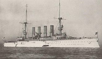 SMS Scharnhorst - Pre-war photo of Scharnhorst