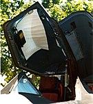 SR-71 Pilots ejection seat & open canopy (4527349043).jpg