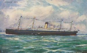 SS Arabic (1902) - Image: SS Arabic, early 20th C