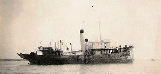 Indian Coast Guard - SS Nautilus, a ship used by Royal Indian Navy to patrol Indian coasts during World War II